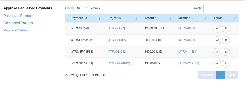 Transformify_Payment Automation